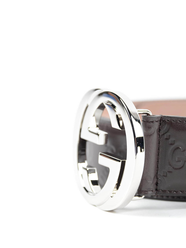 iKRIX GUCCI: belts - Embossed GG belt