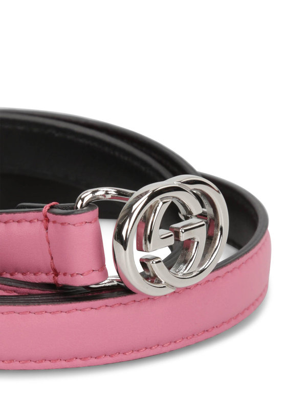 iKRIX Gucci: Gürtel - GG buckle leather belt