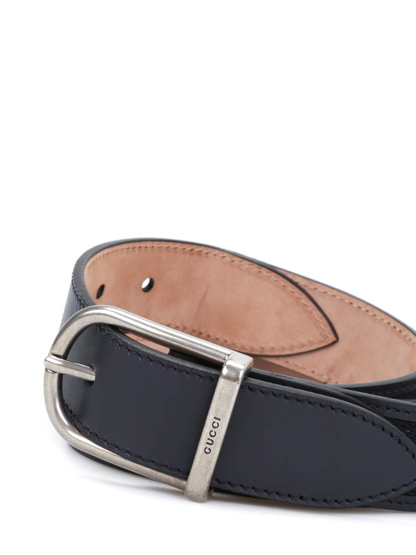 iKRIX Gucci: belts - Nylon web leather belt with  buckle