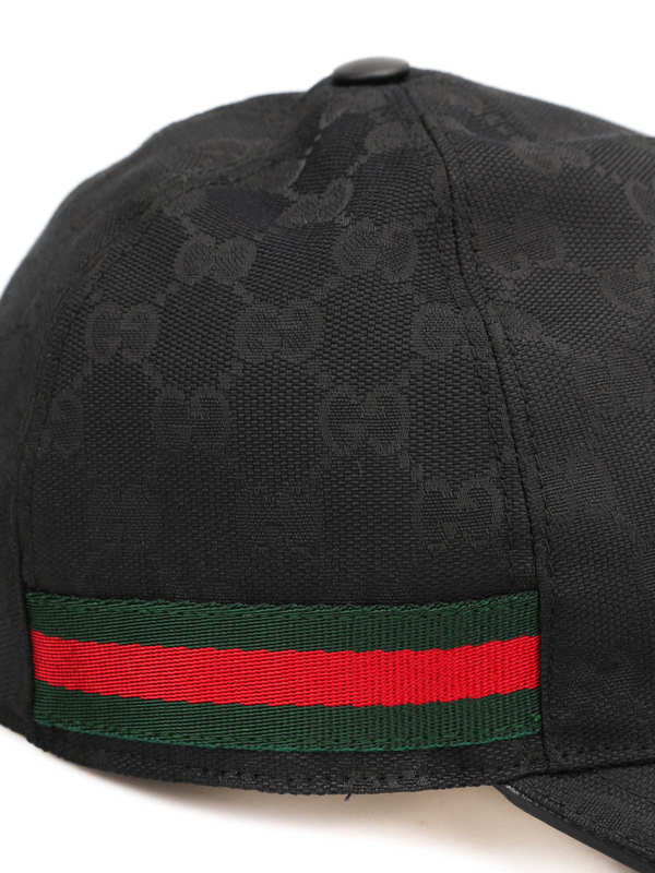 gg canvas baseball hat by gucci hats caps shop. Black Bedroom Furniture Sets. Home Design Ideas