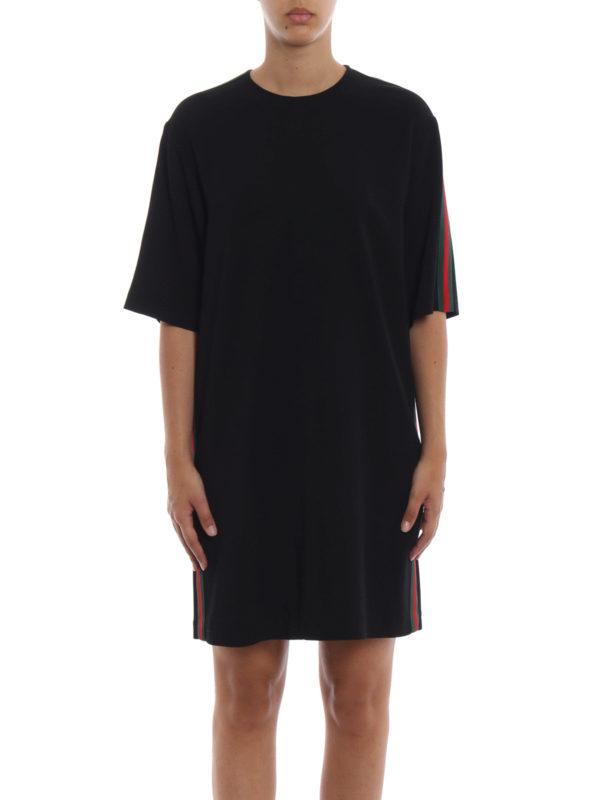 iKRIX GUCCI: Knielange Kleider - Knielanges Kleid - Schwarz