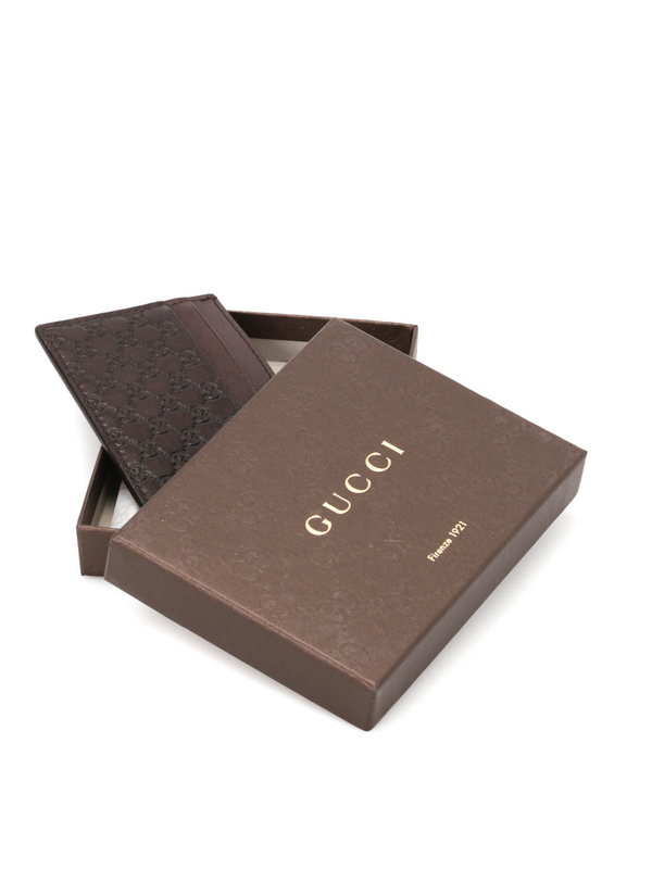 iKRIX Gucci: Microguccissima card case