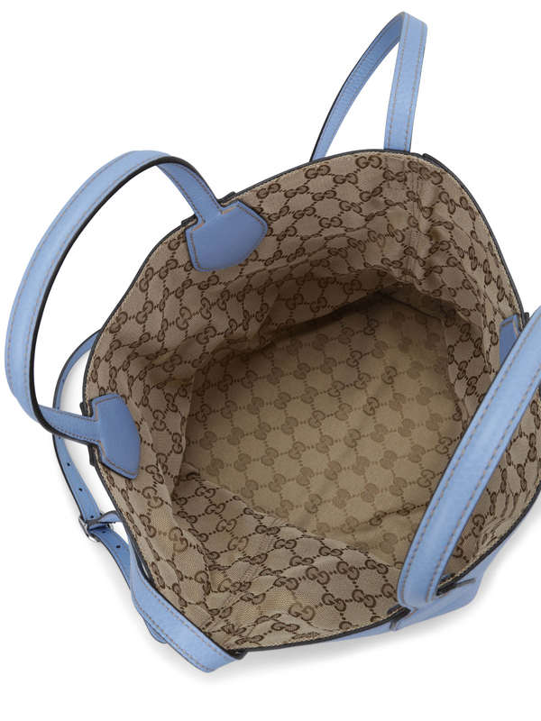 iKRIX Gucci: Reversible GG fabric Ramble tote