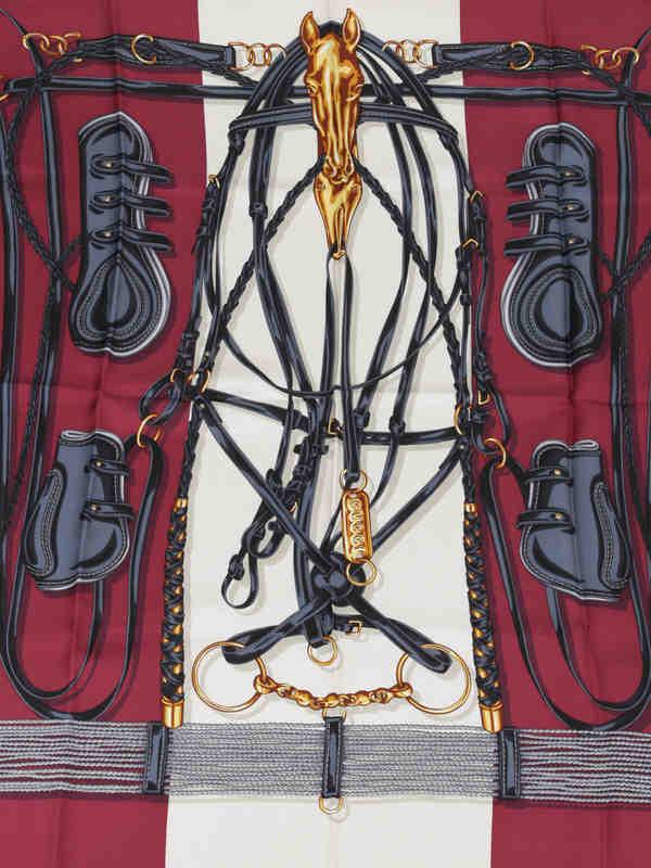 iKRIX GUCCI: scarves - Equestrian print scarf