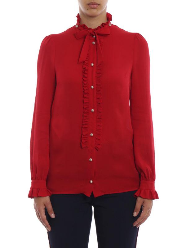 iKRIX GUCCI: Hemden - Hemd - Rot