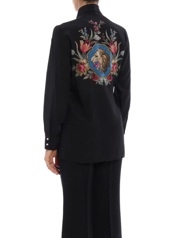 iKRIX Gucci: Hemden - Hemd - Schwarz