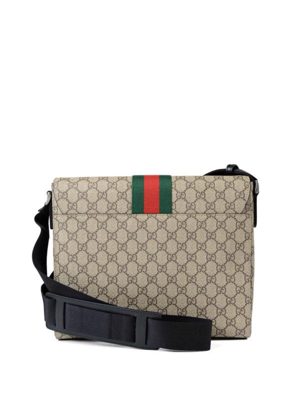 iKRIX Gucci: shoulder bags - GG Supreme Web fold over bag