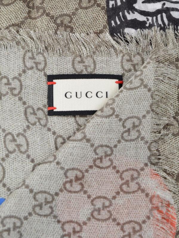 iKRIX Gucci: Stolen und Schals - Stola - Beige