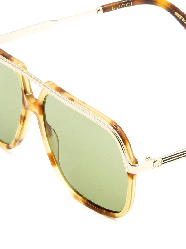 iKRIX Gucci: Gafas de sol - Gafas De Sol - Marrón Claro