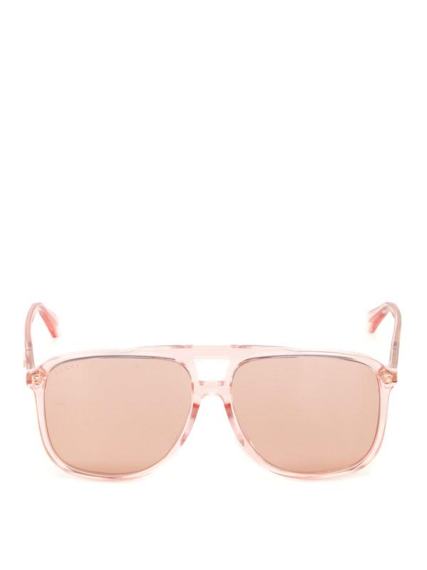 iKRIX GUCCI: sunglasses - Orange lenses square sunglasses