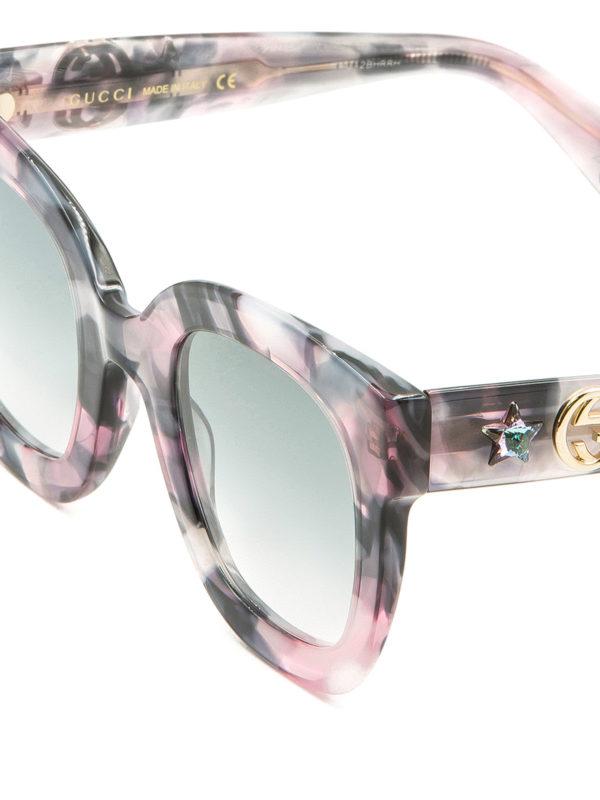 iKRIX Gucci: Gafas de sol - Gafas De Sol - Rosado