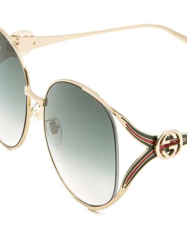iKRIX GUCCI: Gafas de sol - Gafas De Sol - Dorado