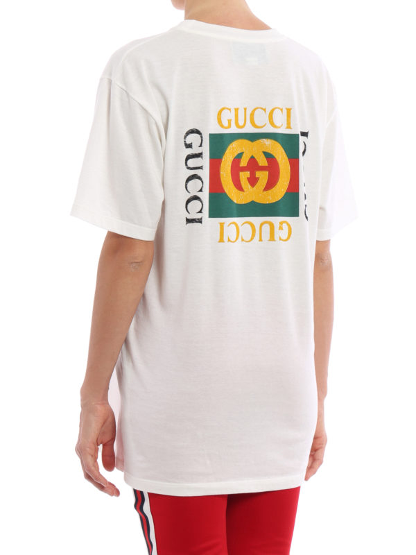 iKRIX GUCCI: T-shirts - T-Shirt - Weiß