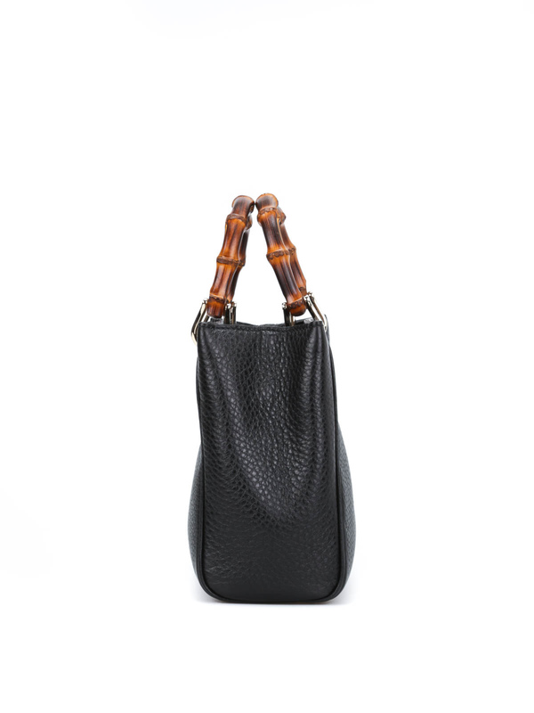iKRIX Gucci: totes bags - Bamboo mini top handle leather bag