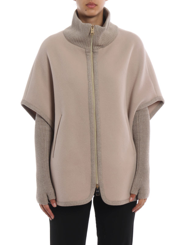 iKRIX HERNO: Capes & Ponchos - Cape - Beige