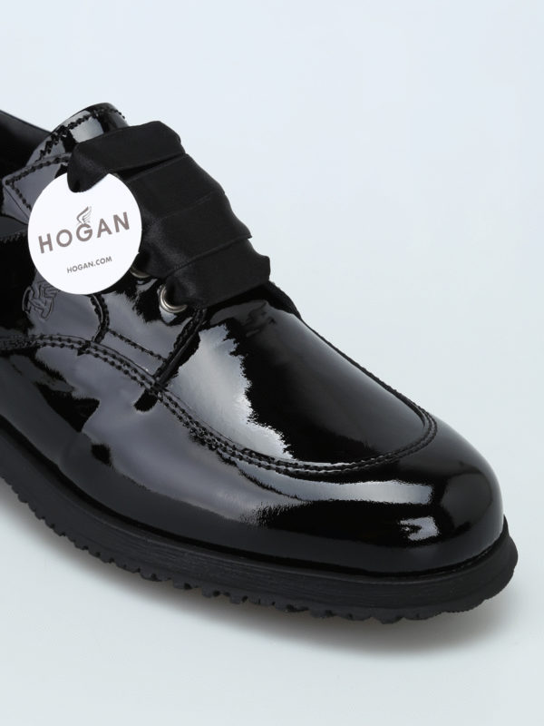 iKRIX HOGAN: lace-ups shoes - Traditional patent leather lace-ups