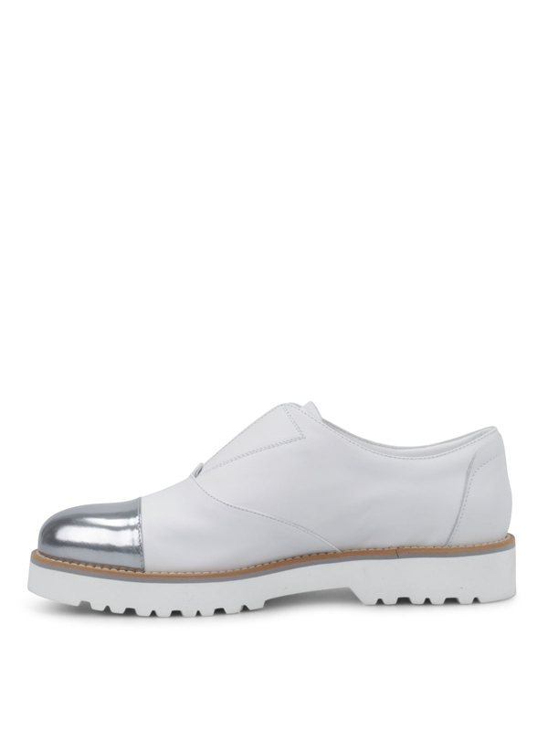 iKRIX HOGAN: Mokassins und Slippers - Sneaker Fur Damen - Weiß