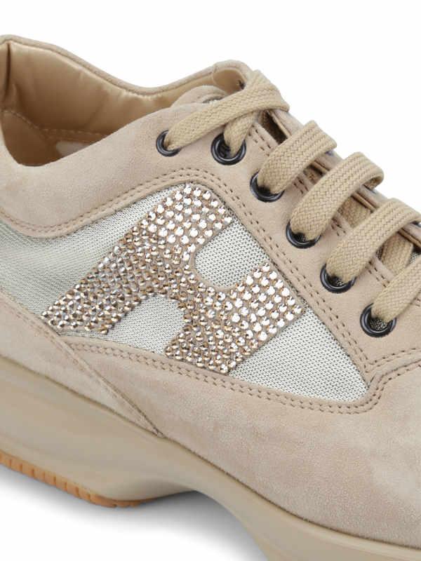 iKRIX Hogan: Sneaker Fur Damen - Beige