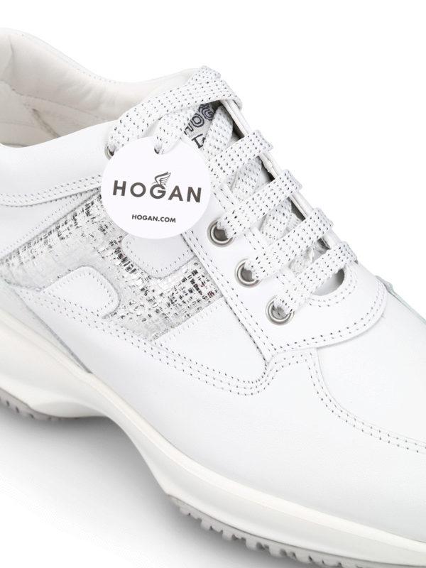 hogan interactive bianche in pelle,sirpizzaky.com