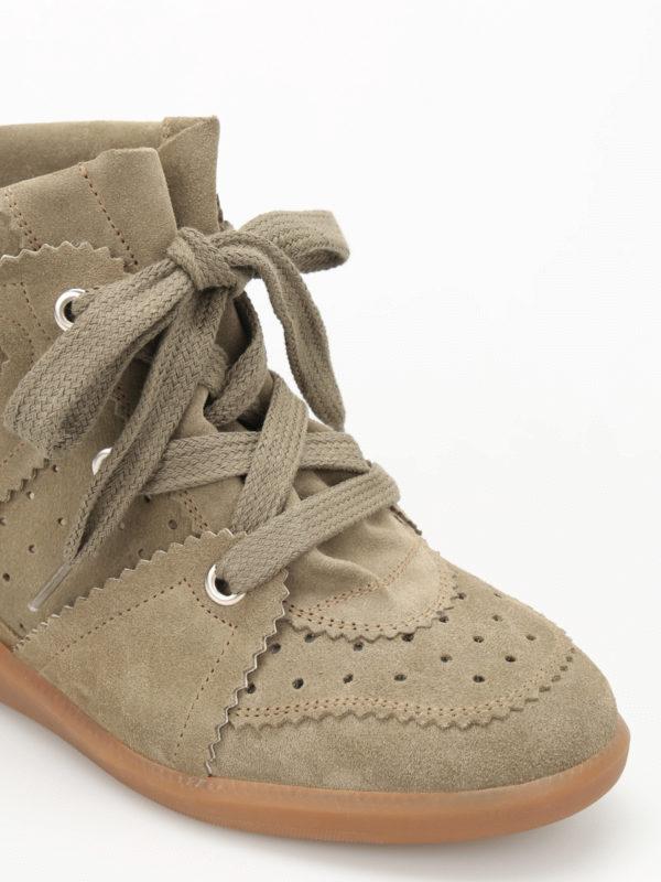 iKRIX Isabel Marant: Sneaker - Sneaker - Dunkelgrün