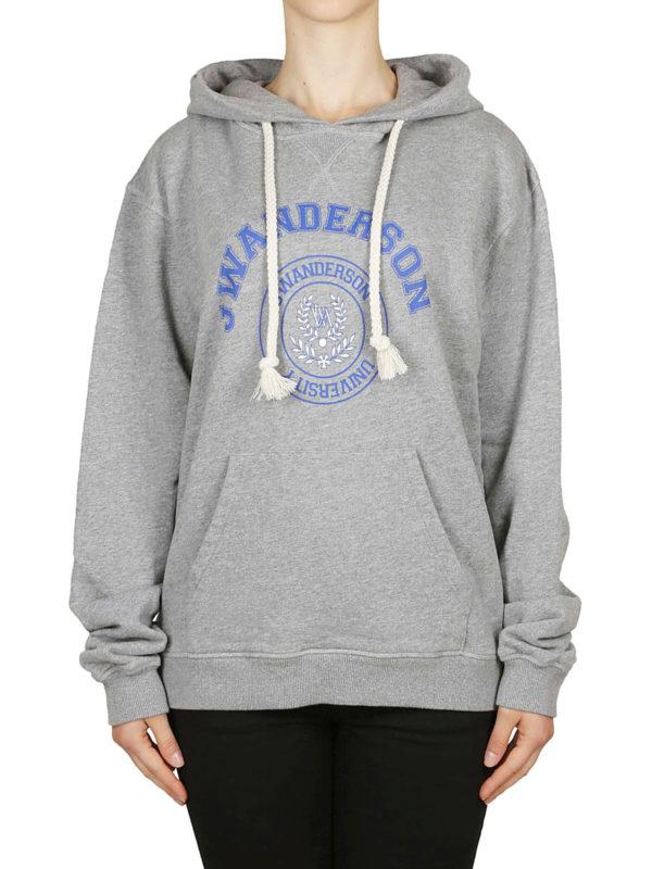 iKRIX J.W. ANDERSON: Sweatshirts und Pullover - Sweatshirt - Grau