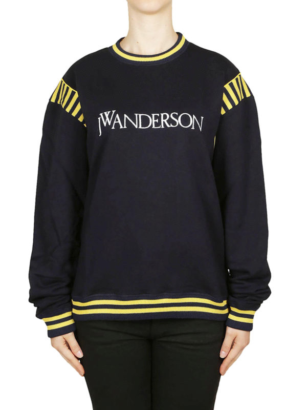 iKRIX J.W. ANDERSON: Sweatshirts und Pullover - Sweatshirt - Dunkelblau