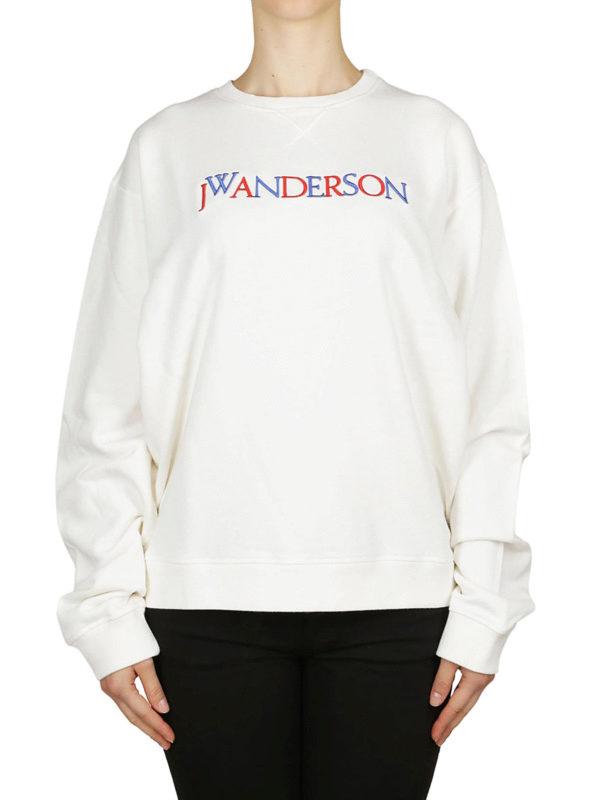 iKRIX J.W. ANDERSON: Sweatshirts und Pullover - Sweatshirt - Weiß