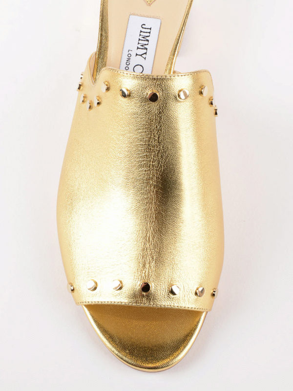 iKRIX JIMMY CHOO: Mules - Mules - Gold