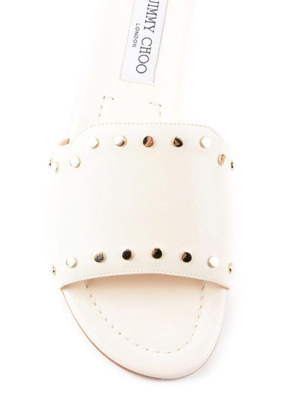 iKRIX Jimmy Choo: Sandalen - Sandalen - Weiß