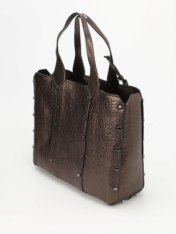 iKRIX JIMMY CHOO: Handtaschen - Shopper - Bronze