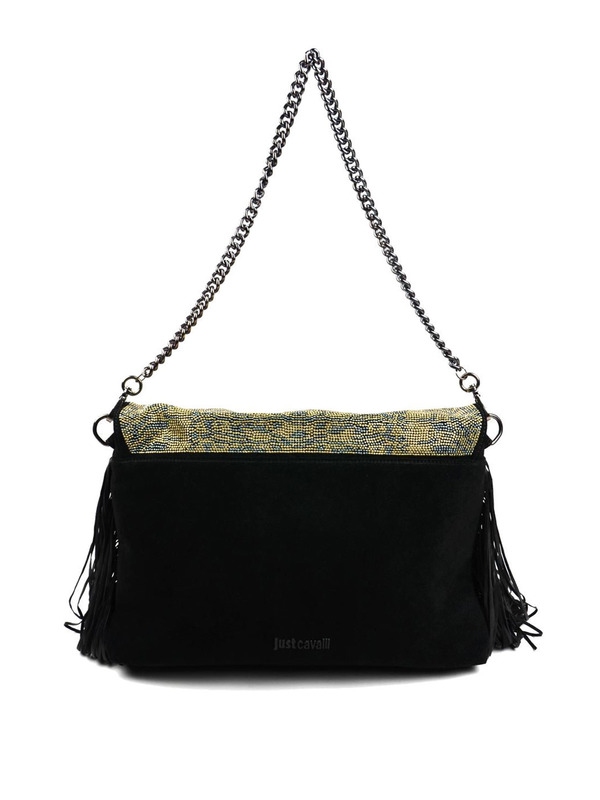 iKRIX JUST CAVALLI: shoulder bags - Suede shoulder bag with mini studs