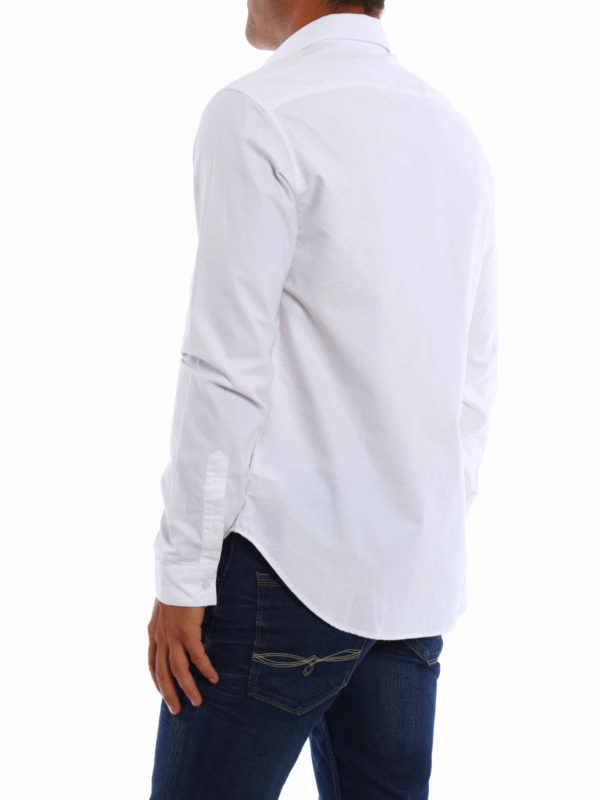 iKRIX KENZO: shirts - Embroidered Tiger oxford shirt