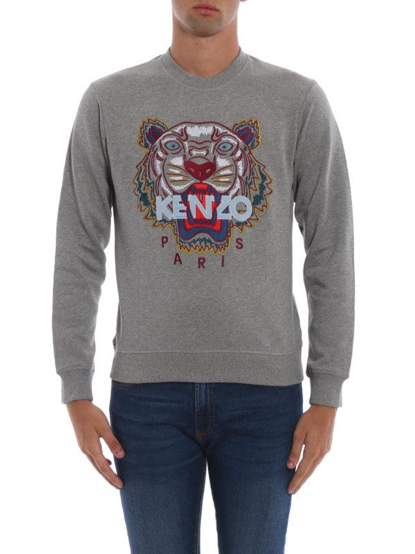 iKRIX KENZO: Sweatshirts und Pullover - Sweatshirt - Grau