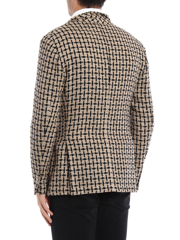 iKRIX L.B.M 1911: blazers - Unstructured woven wool jacket