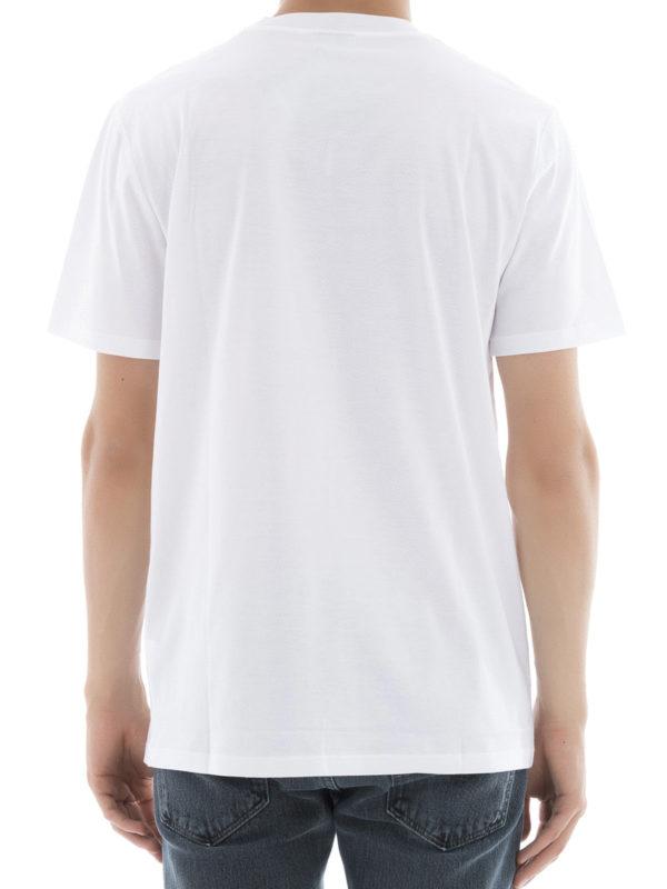 iKRIX Lanvin: T-shirts - T-Shirt - Weiß