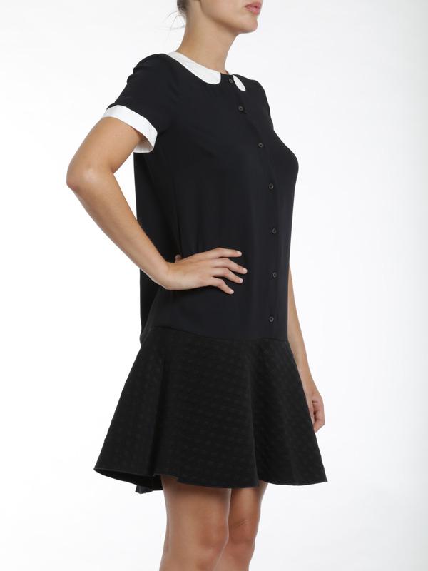 iKRIX M Missoni: short dresses - Faux collar dress