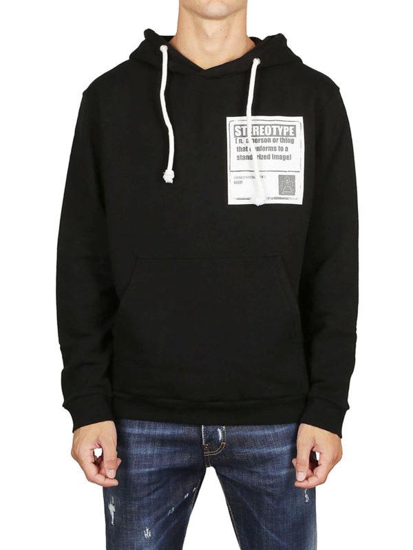 iKRIX Maison Margiela: Sweatshirts und Pullover - Sweatshirt - Schwarz