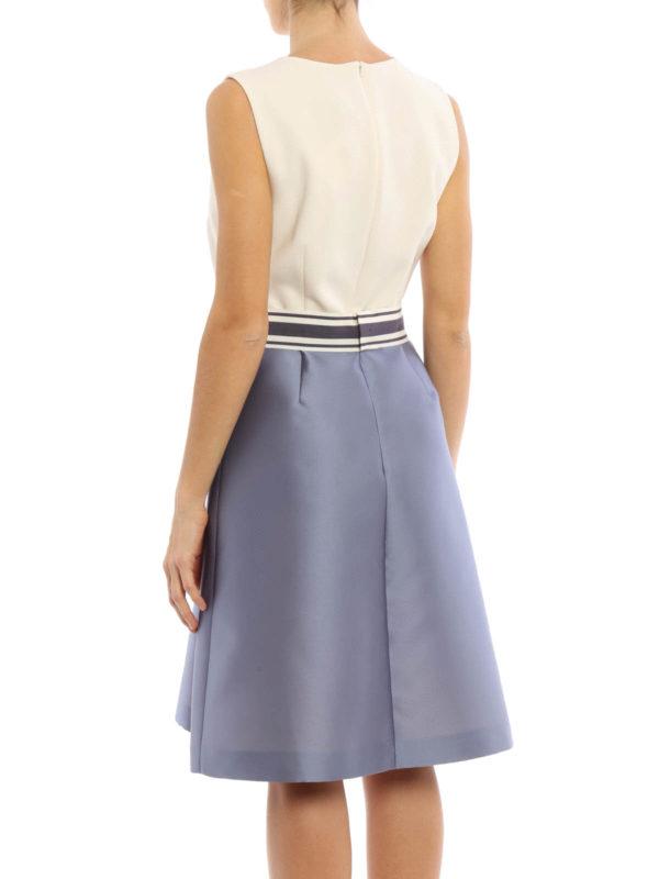 Kafir flared sleeveless dress by Max Mara
