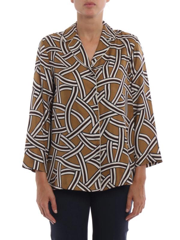 iKRIX Max Mara: Hemden - Hemd - Bunt