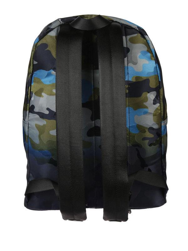 iKRIX MICHAEL KORS: backpacks - Camouflage fabric backpack