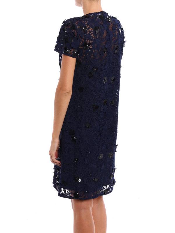 iKRIX MICHAEL KORS: cocktail dresses - Embellished lace and tulle dress