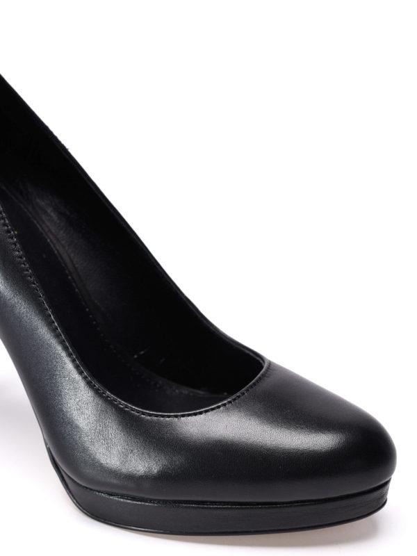 iKRIX Michael Kors: court shoes - Antoinette leather platform pumps