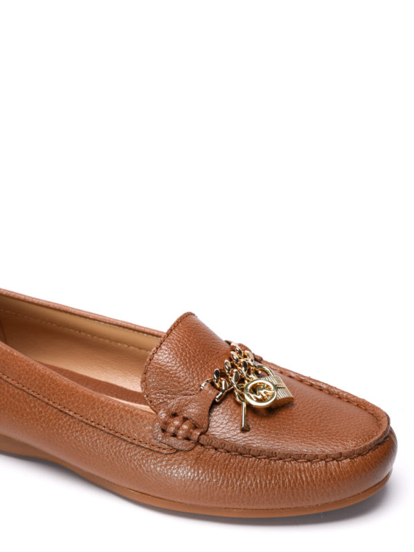 iKRIX Michael Kors: Loafers & Slippers - Suki leather loafers