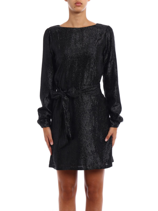 iKRIX Michael Kors: short dresses - Shimmering long sleeve dress