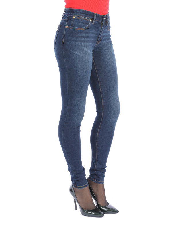 Men Stone Washed Jeans