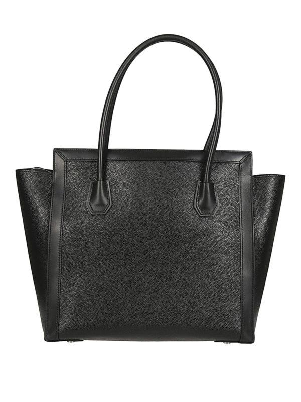 iKRIX MICHAEL KORS: totes bags - Mercer Studio L black leather tote