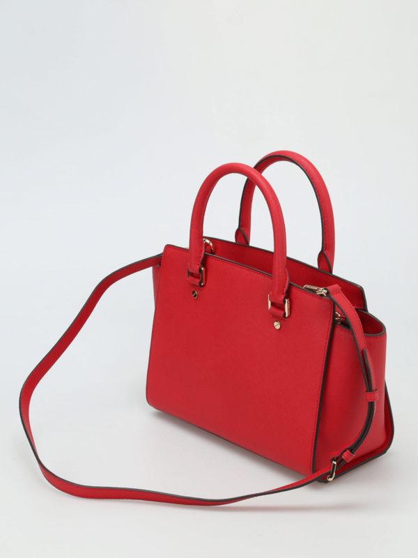 handtasche selma rot von michael kors handtaschen ikrix. Black Bedroom Furniture Sets. Home Design Ideas