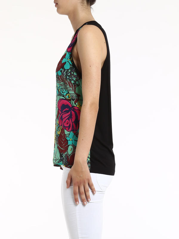 iKRIX Missoni: Double fabric top