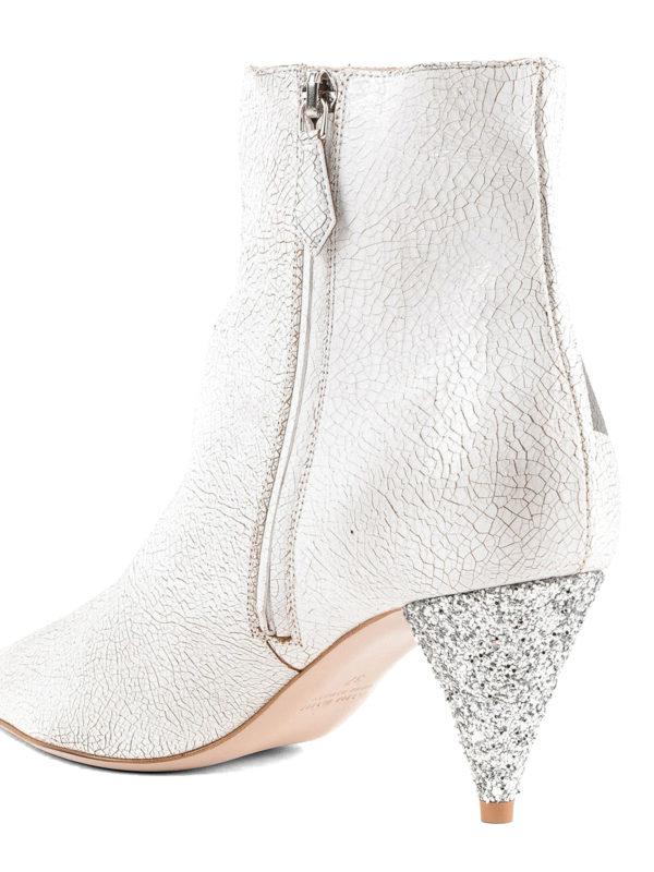 iKRIX MIU MIU: Stiefeletten - Stiefeletten - Weiß