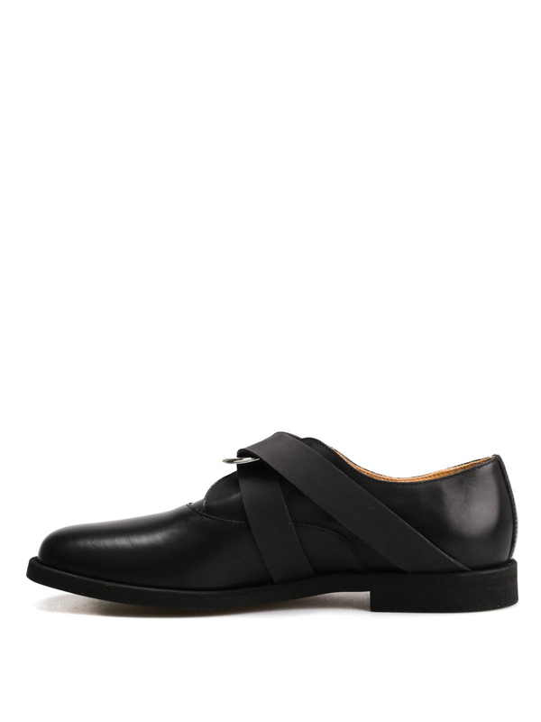 iKRIX MM6 MAISON MARGIELA: classic shoes - Leather shoes with rubber details